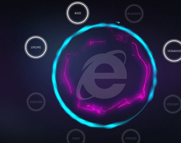 Explore Touch with Microsoft IE 10
