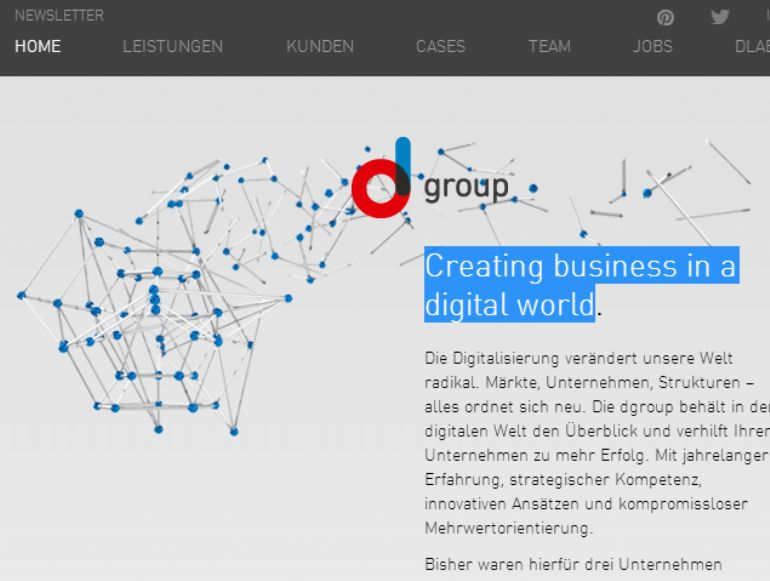 dgroup Creating business in a digital world