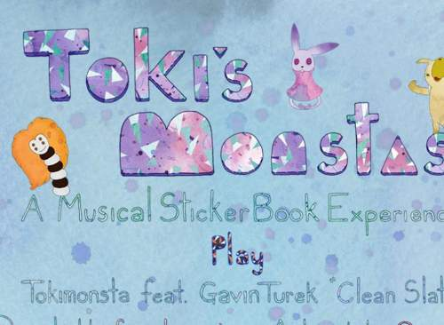 Toki's Monstas - A Musical Sticker Book Experience