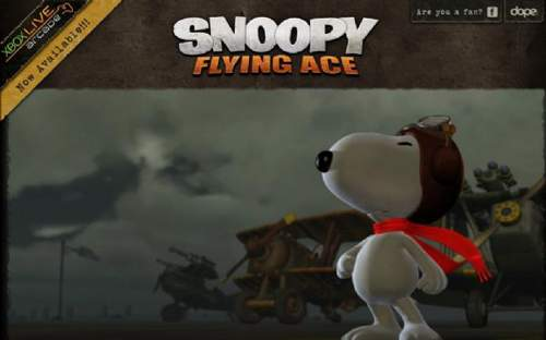 Snoopy flying ace 游戏网站