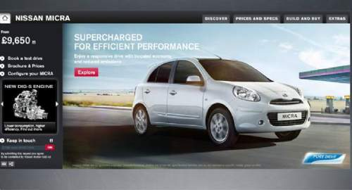 Nissan cars, vans, fleet and services - 尼桑名车