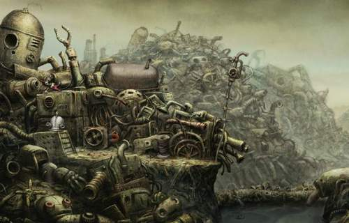 Machinarium 机械迷城高端FLASH游戏网站
